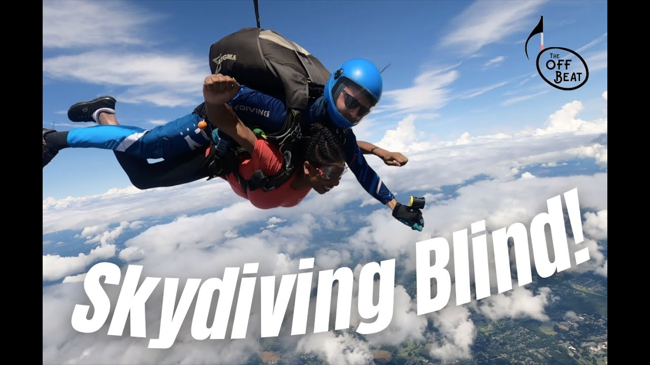 Off Beat - Going Blind & Staying Fabulous in NYC | Episode 14 - Skydiving Blind!