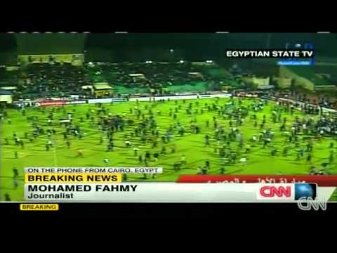 Deadly Riots Break Out During An Egyptian Soccer Match Port Said Egypt