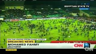 Video Deadly riots break out during an Egyptian soccer match Port Said Egypt download MP3, 3GP, MP4, WEBM, AVI, FLV Oktober 2017