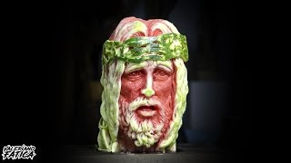 Jesus Christ - Best Watermelon Carving