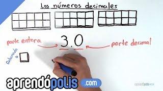 ¿Qué son los números decimales?