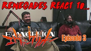 Renegades React to... Neon Genesis Evangelion - Episode 3