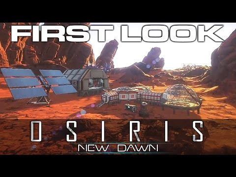 OSIRIS: New Dawn - SciFi Survival & Construction - Checking out Multiplayer w/ Shack
