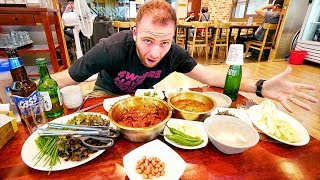 Eating SPICY KOREAN BBQ Braised Short Ribs - GALBI JIM | Daegu, South Korea