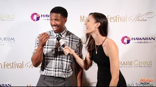 Malika Interviews Michael B. Jordan at Maui Film Festival 2016