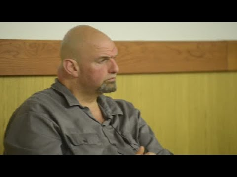 Lt. Governor John Fetterman Makes Stop in Montour County