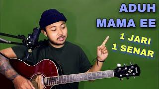 Download lagu Tutorial Melodi (ADUH MAMAEE ADA CEWE BAJU PUTIH TIKTOK) cuman pake 1 JARI 1 SENAR (Guitar)