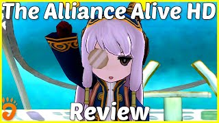 Review: The Alliance Alive HD Remastered (Reviewed on PS4, also coming to Switch and later PC) (Video Game Video Review)