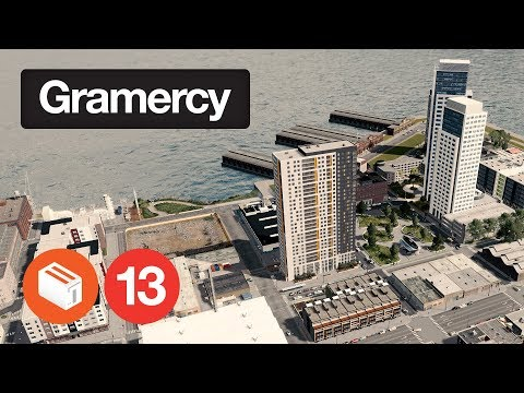 Cities Skylines: Gramercy | Episode 13 - Gentrification