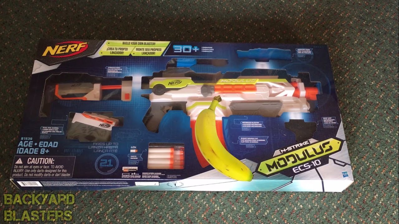 the nerf modulus review backyard blasters youtube