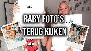 DRIELING KIJKT BABY FOTO'S TERUG