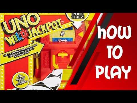 How To Play Uno Wild Jackpot Card Game Youtube