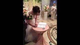Выездная регистрация брака в ресторане Версаль