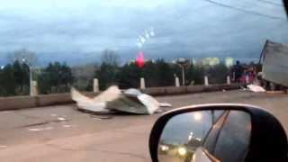 Авария на мосту Саратов-Энгельс 15.11.2013