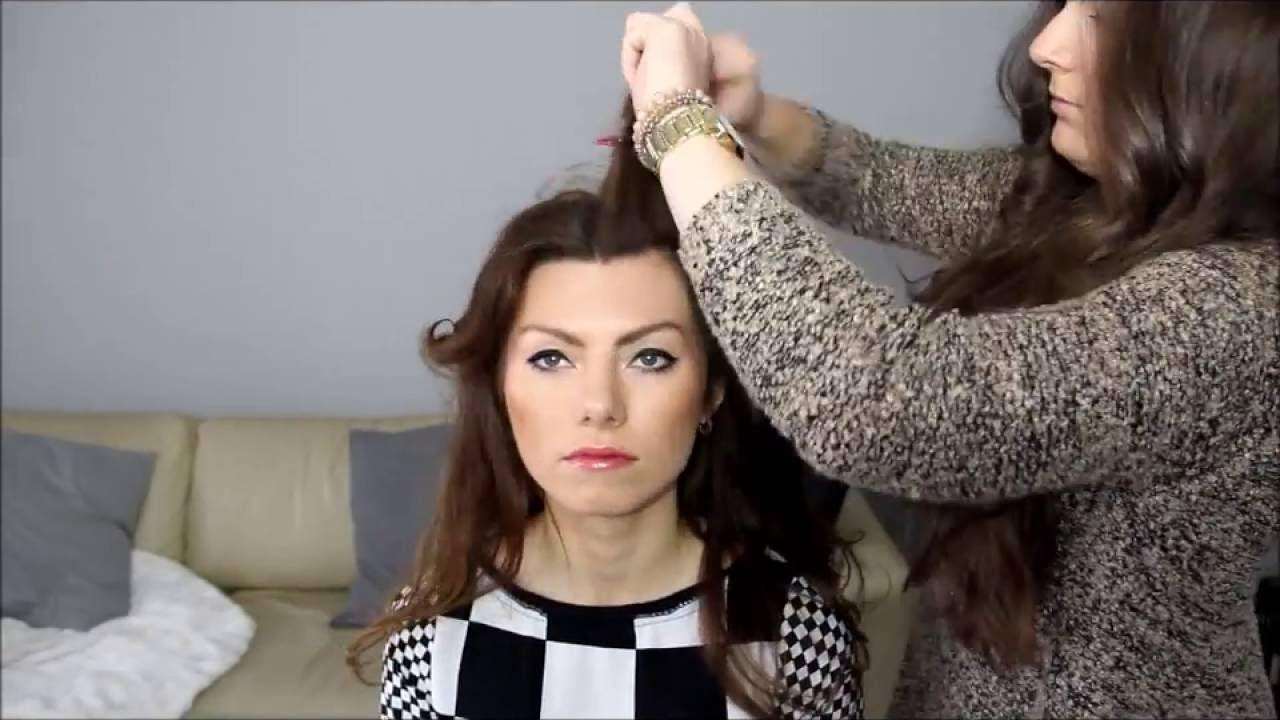 Fryzura W Stylu Aniołków Victorias Secret Jak Zrobić Loki Youtube