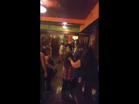 Bar fight in Bryan, Texas
