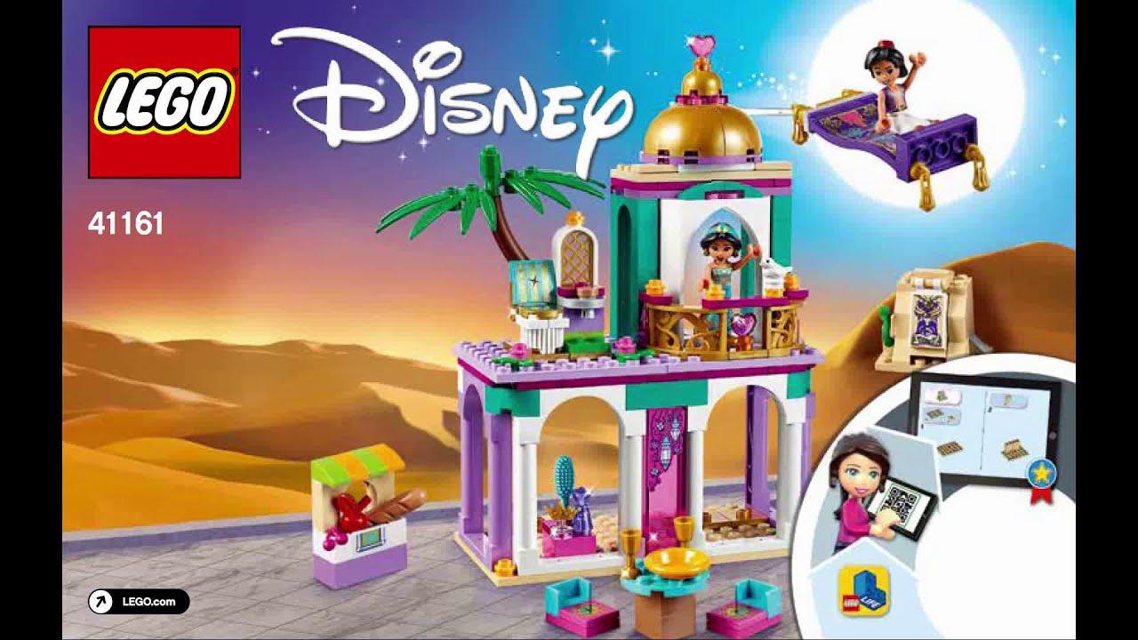 LEGO Disney Aladdin and Jasmine/'s Palace Adventures 41161