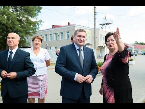 Андрей Бочаров провел рабочую поездку в Новоаннинский район