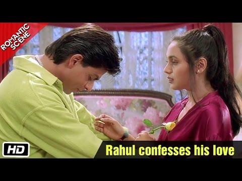 rahul-confesses-his-love---romantic-scene---kuch-kuch-hota-hai---shahrukh-khan,-rani-mukerji
