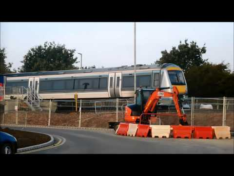 totnes castle to the rescue & first chiltern units to oxford parkway station