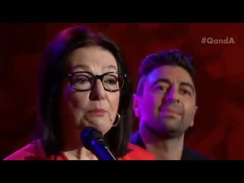 "Q&A Live - Nana Mouskouri performs ""The White Rose of Athens"""