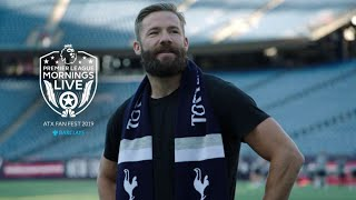 Julian Edelman gets ready for Premier League Fan Fest in Austin | NBC Sports