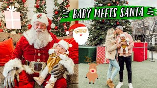 TAKING OUR BABY TO SEE SANTA + BFF GIFT EXCHANGE!