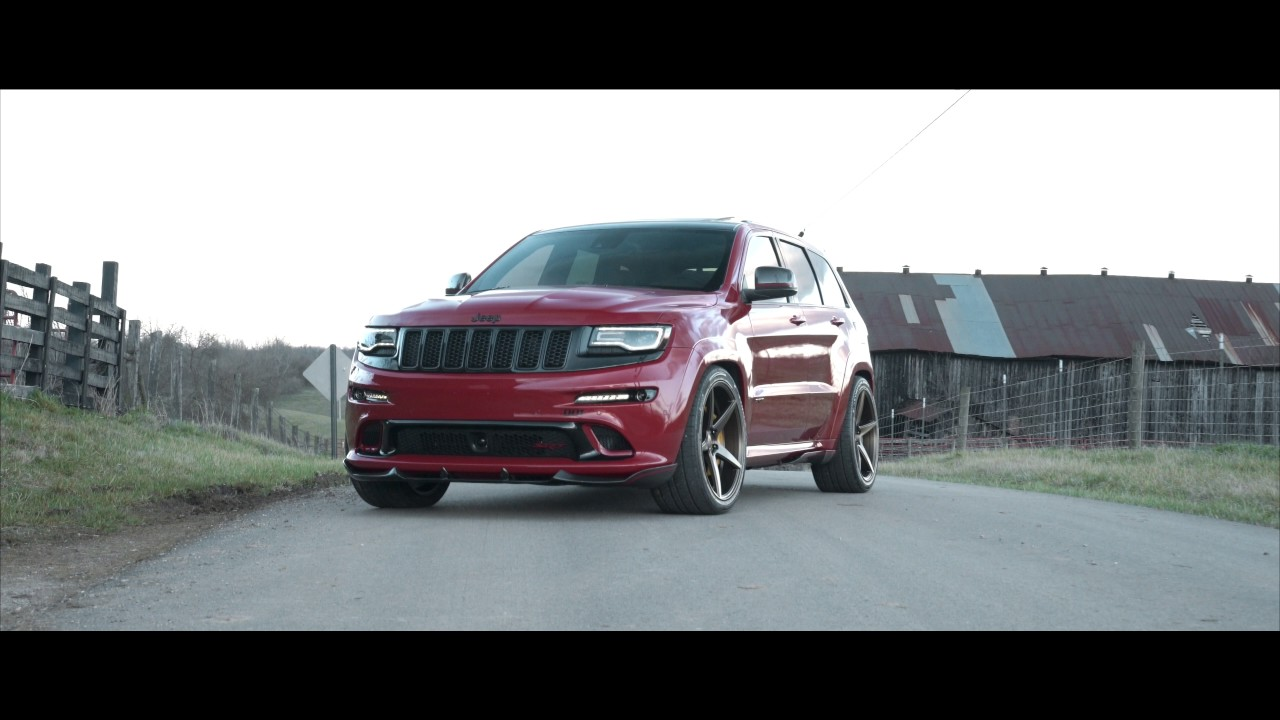 "Srt8 Jeep Trackhawk >> JEEP CHEROKEE SRT8 | VELGEN WHEELS CLASSIC5 BRONZE | 22"" - YouTube"