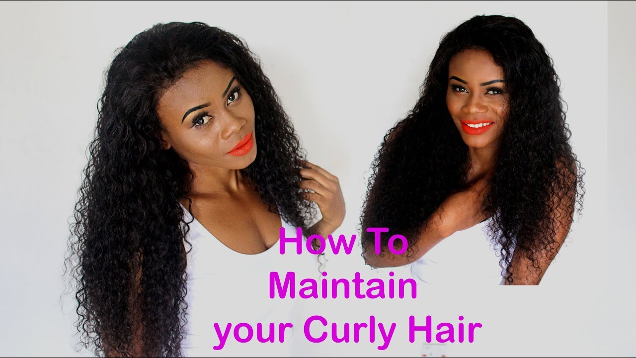 How To Revive Maintain Curly Hair Weave In 2 Steps Define Curls