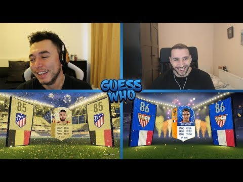 THE FUNNIEST EPISODE YET 😂 GUESS WHO FIFA vs ITANI 🔥 (GUESS WHO PACKS)