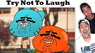 Try Not To Laugh Challenge The Best Of The Amazing World Of Gumball