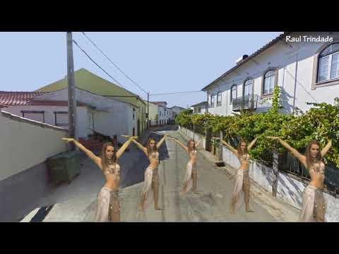 Nova coreografia em Paradela.