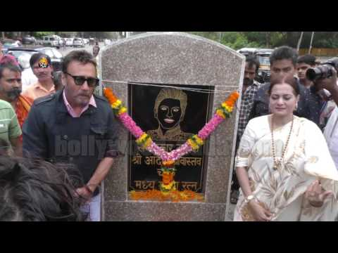 Jackie Shroff, Poonam Dhillon, INAUGURATION Aadesh Shrivastava's Chowk Lokhandwala Mumbai