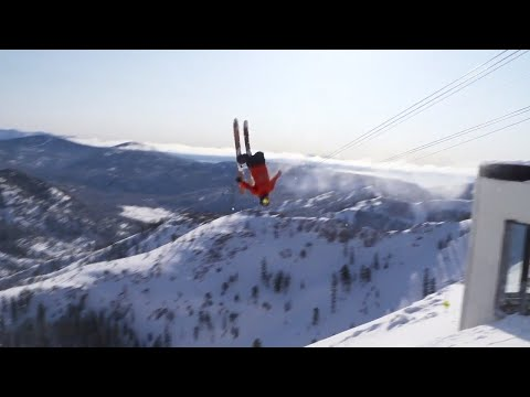 A Look At The Gondola Connecting Squaw Valley And Alpine Meadows Ski Resorts
