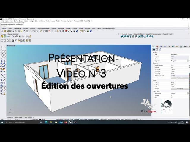 Présentation VisualArq Vidéo n°3