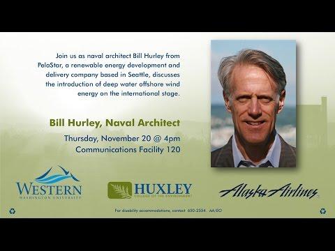 Huxley Speaker Series 11/13/14: Bill Hurley