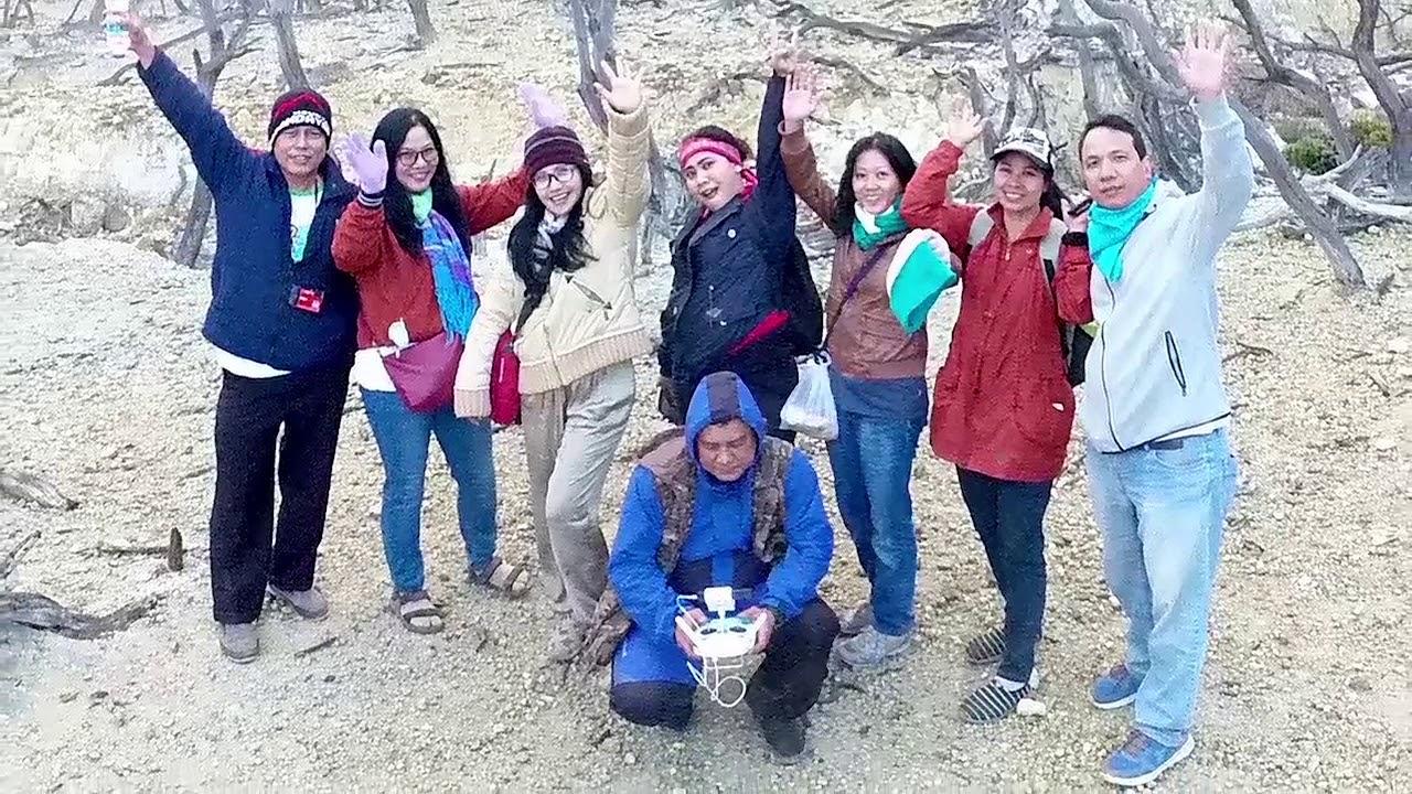 Wonderful World, Elquada Hida Story in Mount Papandayan