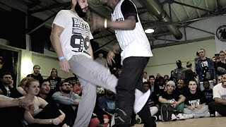 Twoface vs Popping Prince Popping Dance Battle | MATW 2015 | SnootyBro video