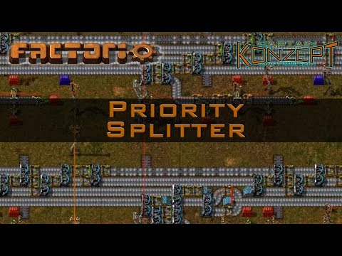 Factorio Priority Splitters: Maximum Throughput off your