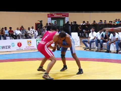 Indian Wrestling Kushti Dangal Bout at Chandgiram gold cup 2016 Indira Gandhi Stadium thumbnail