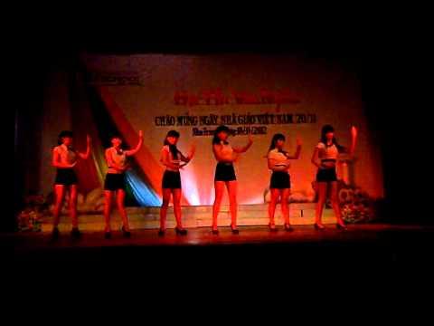 Nhảy hiện đại-12A7 ischool Nha Trang