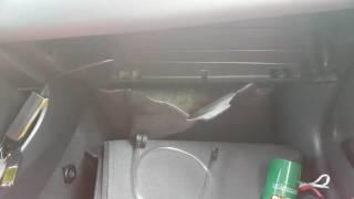 видео Как почистить на тойота камри испаритель кондиционера