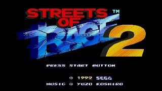 Streets Of Rage 2 Stages 1-3 / Sega Genesis Classics PS4 / Beat Em Up