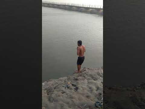 Ganga me nha ke mja aa gya