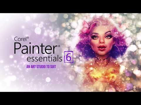 Corel Painter Essentials 6 Offers Improvements for Digital Paint