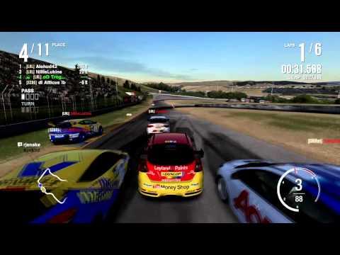 Forza 4 | LRL S4 - BTCC Rounds 8-14: Infineon Raceway NASCAR