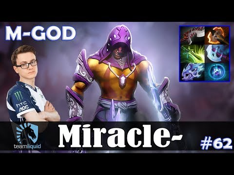 Miracle - Anti-Mage Safelane | M-GOD | Dota 2 Pro MMR Gameplay #62 thumbnail