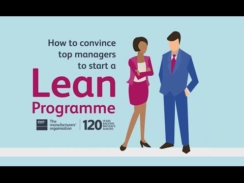 How to convince top managers to start a Lean programme