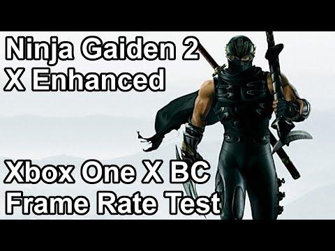 Ninja Gaiden 2 Xbox One X vs Xbox One vs Xbox 360 Frame Rate Comparison (X Enhanced)