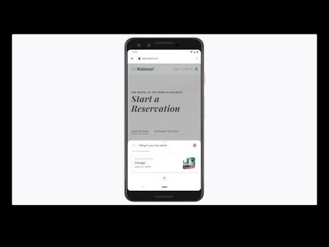 Google Assistant: Duplex on the web